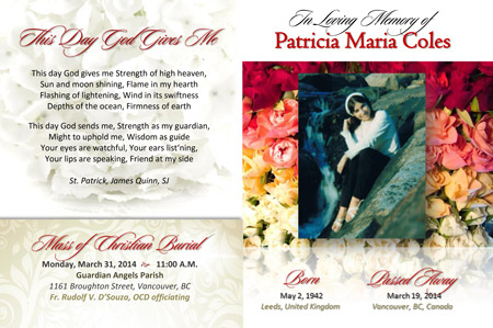 Patricia Maria Coles Poem - This Day God Gives Me
